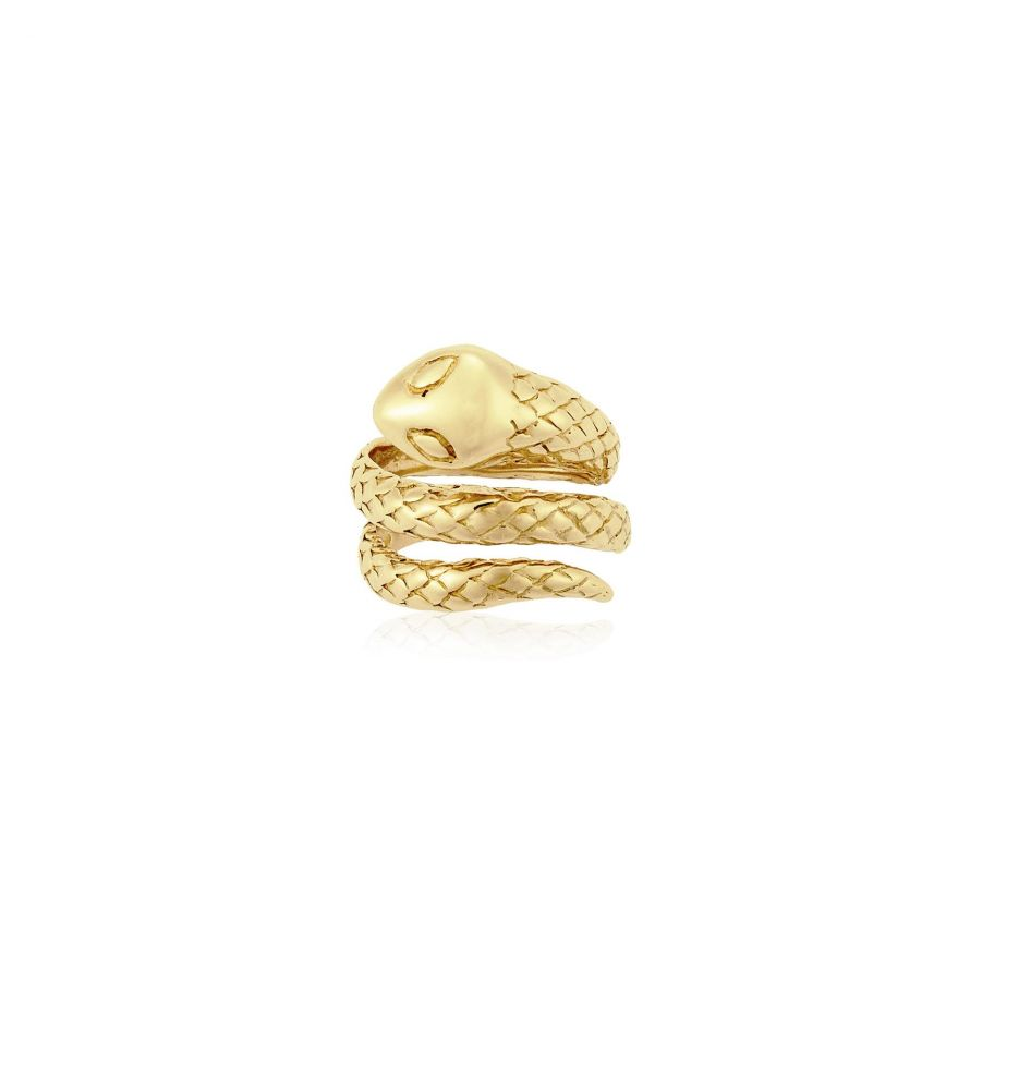 d3d73cb191bb Anillo plata serpiente Roselin Trendy