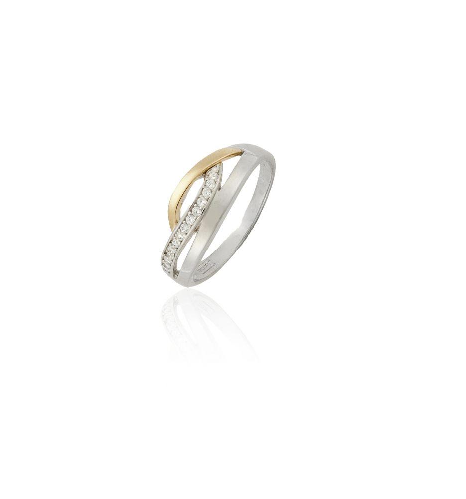 dfeed492461b Sortija Oro y Plata Piedra Orla Nº15