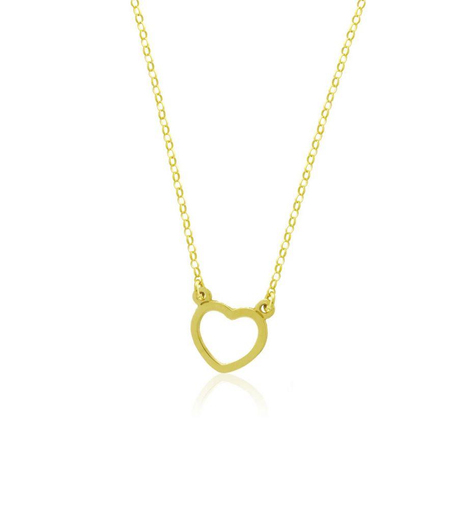 986ce0685c4b Gargantilla plata corazón Roselin Trendy