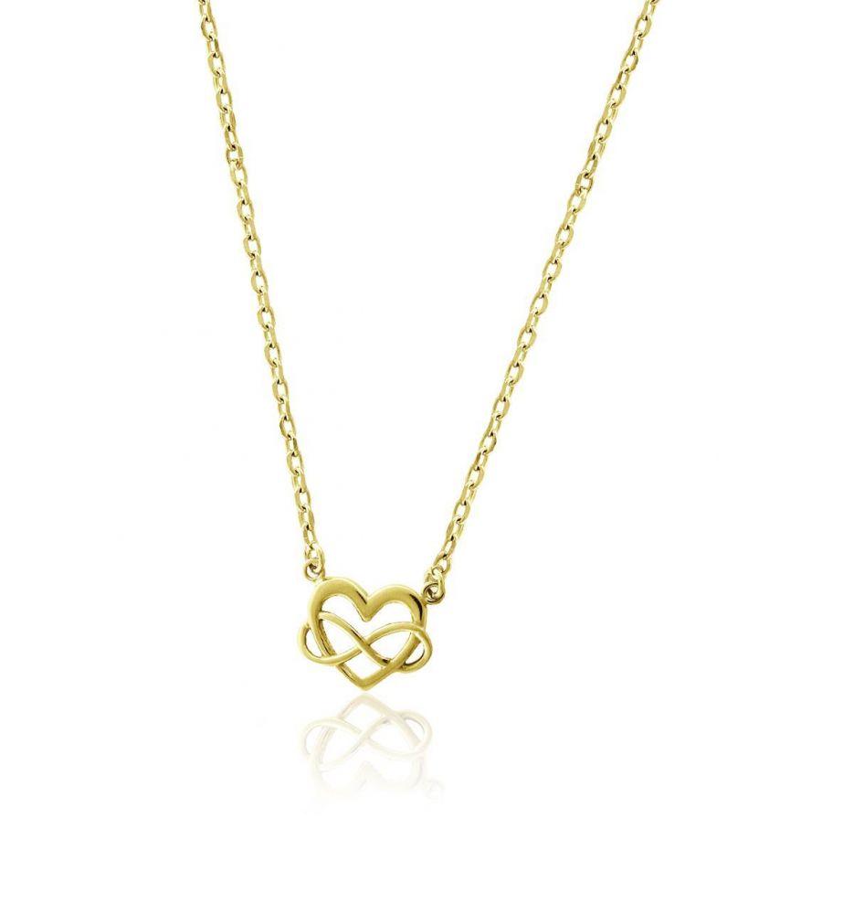 0c6992ac7a8b Gargantilla plata corazón infinito Roselin Trendy