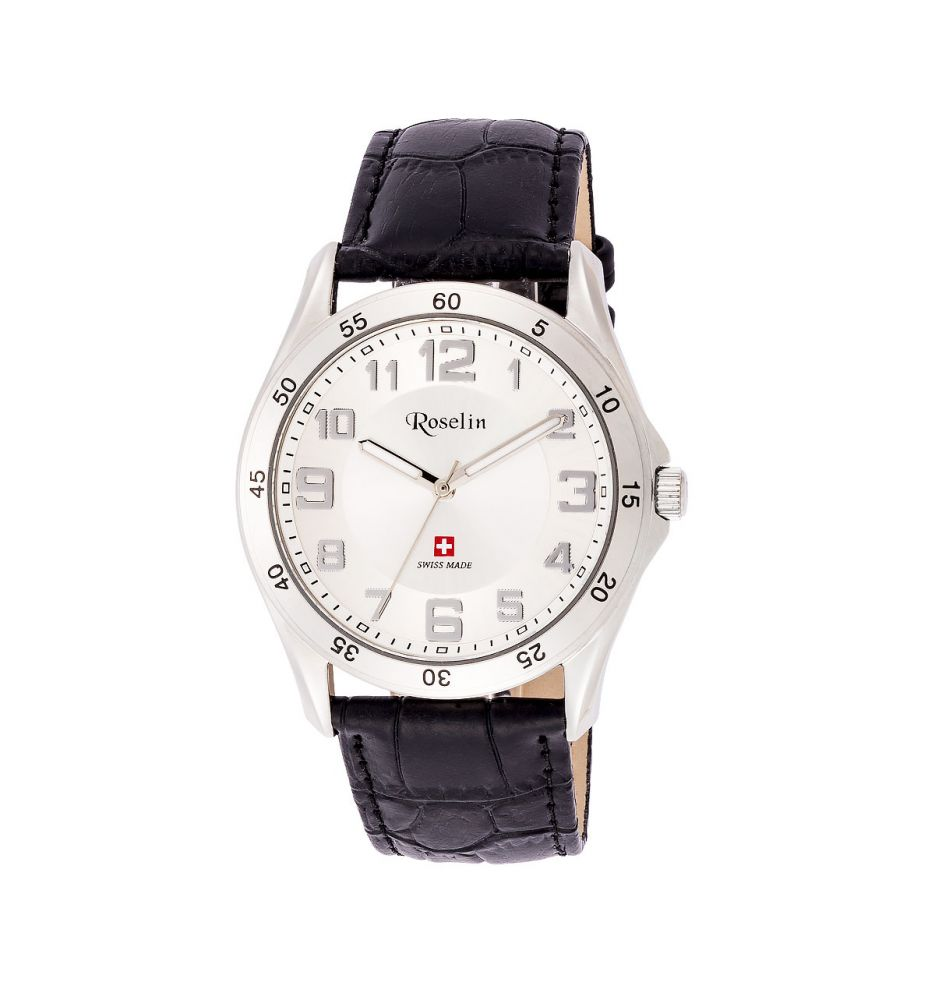 868f8af1160d Reloj hombre piel Swiss Made Roselin Watches - Relojes