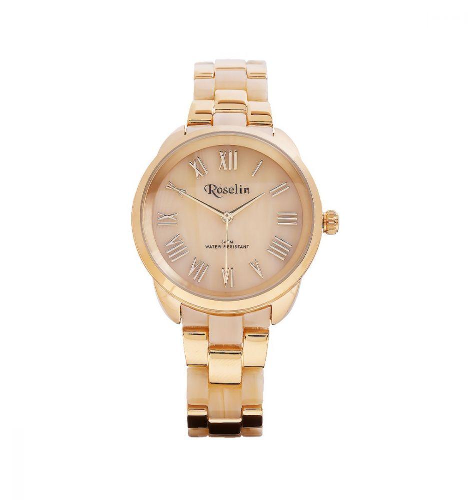 bd8f5331b172 Reloj Carey Dorado Roselin Watches