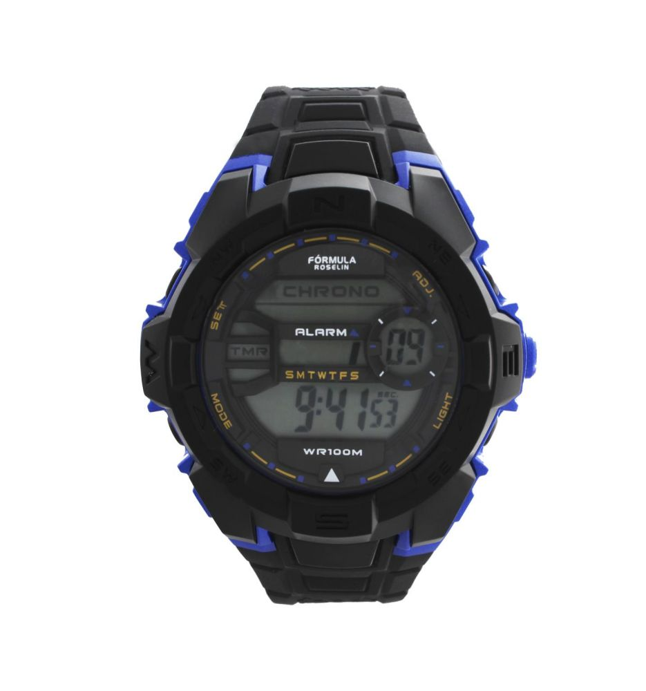 2512b4e4c Reloj digital hombre Fórmula Roselin - Relojes