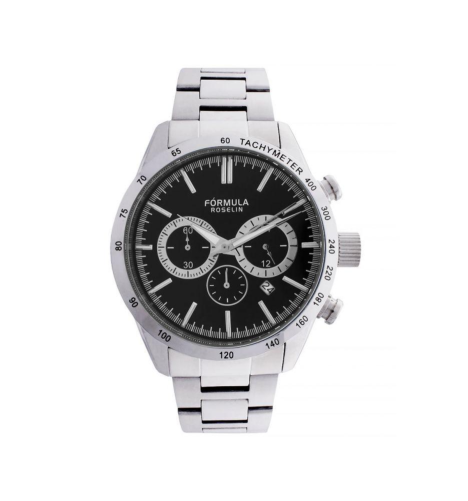 5843dfcae922 Reloj cronógrafo hombre acero Fórmula Roselin - Relojes