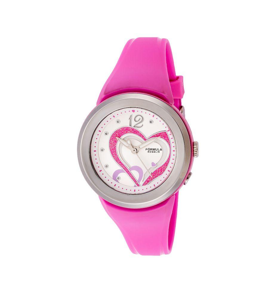 9994e2855f25 Reloj mujer corazones Fórmula Roselin - Relojes