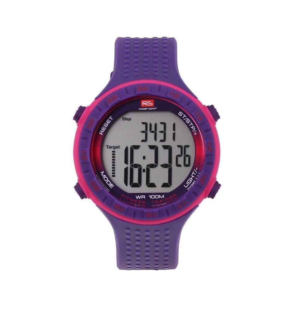 53a5f1d6b536 Reloj unisex podómetro RS Roslain Sport - Relojes