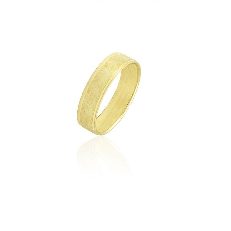 Alianza Oro9 Amarillo Hielo 4.5 Mm Confort Nº15