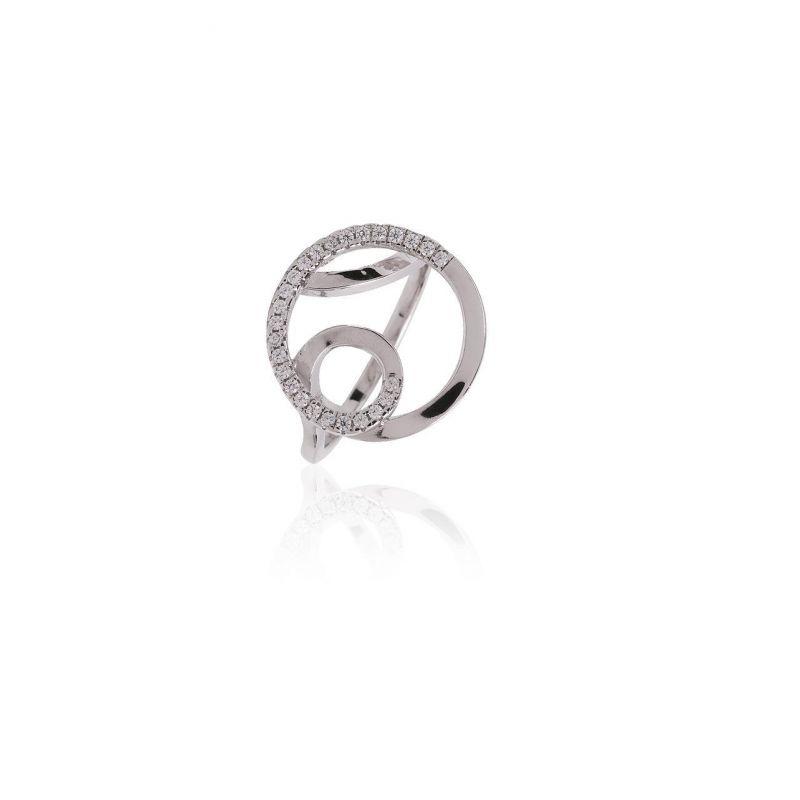 Anillo plata espiral Luxilver