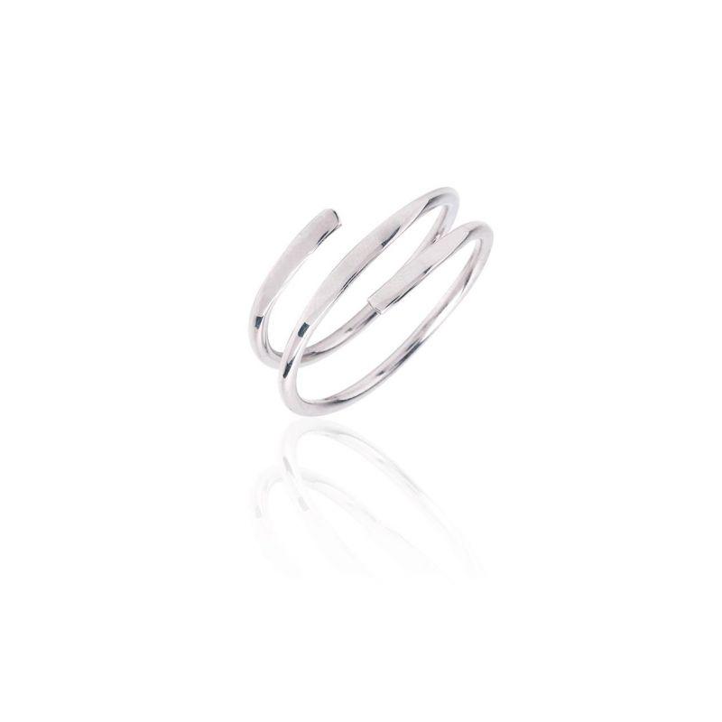 Anillo plata espiral Trendy