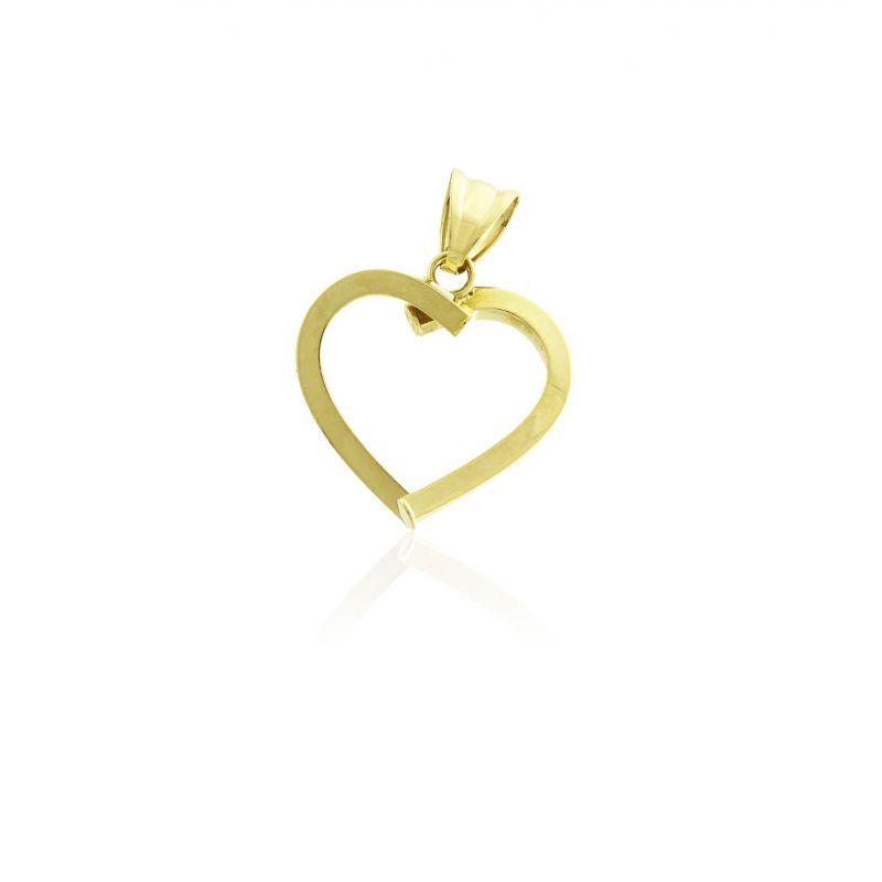Colgante Oro 18 kts corazón Roselin
