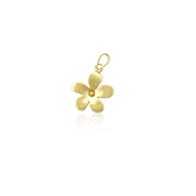 Colgante flor Oro 18k Roselin