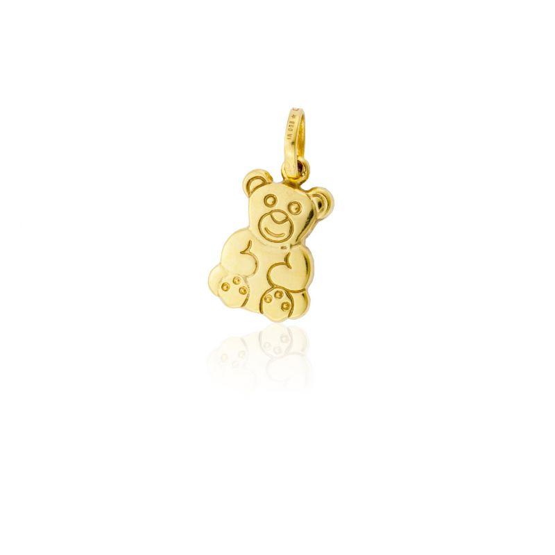 Colgante Oro9 oso Roselin