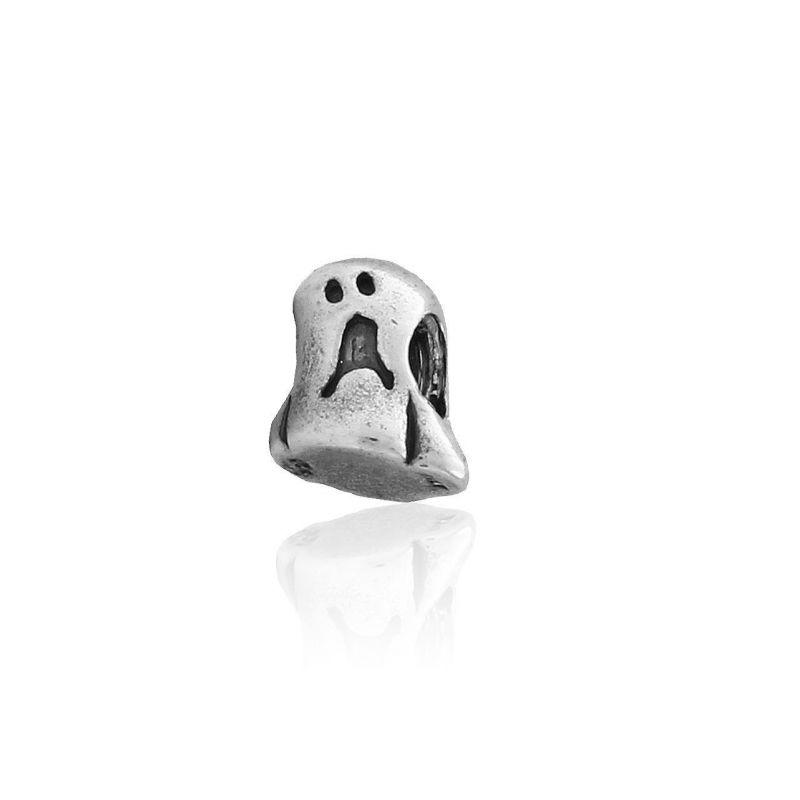Abalorio plata fantasma