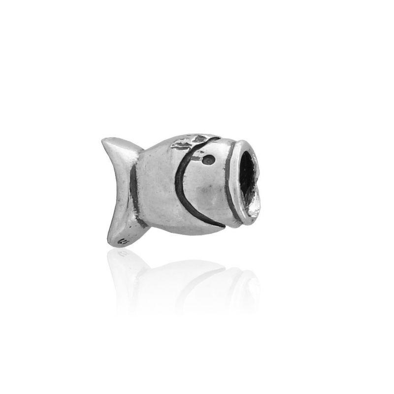Abalorio plata pez