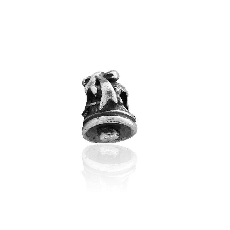 Abalorio plata campana
