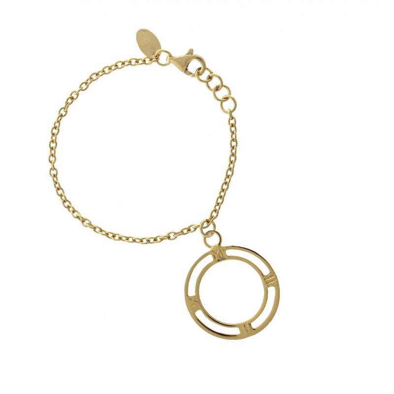 Pulsera plata reloj Roselin Trendy