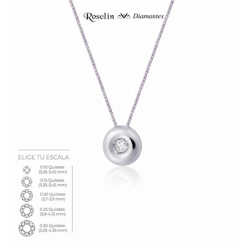 Gargantilla Diamante Chatón