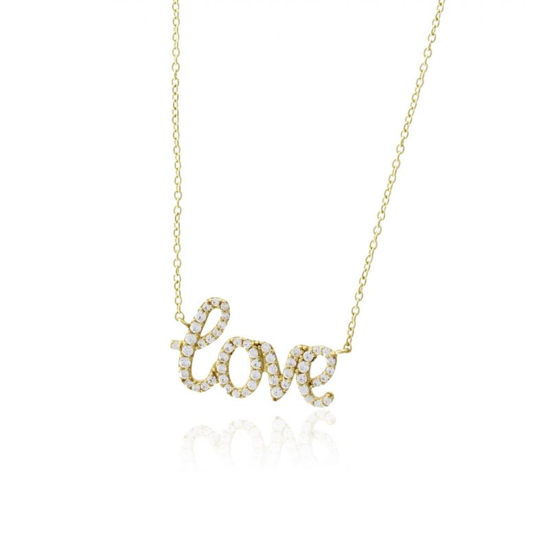 Gargantilla Oro9 piedras Love Roselin Trendy
