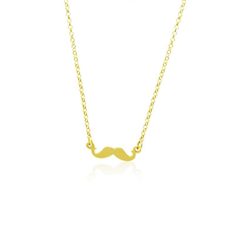 Gargantilla plata bigotes Roselin Trendy