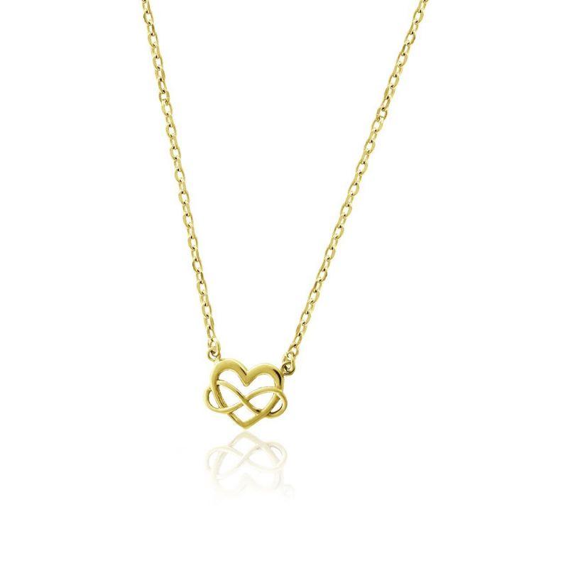 Gargantilla plata corazón infinito Roselin Trendy
