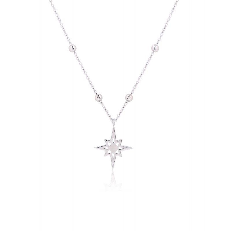 Gargantilla Plata Estrella Polar
