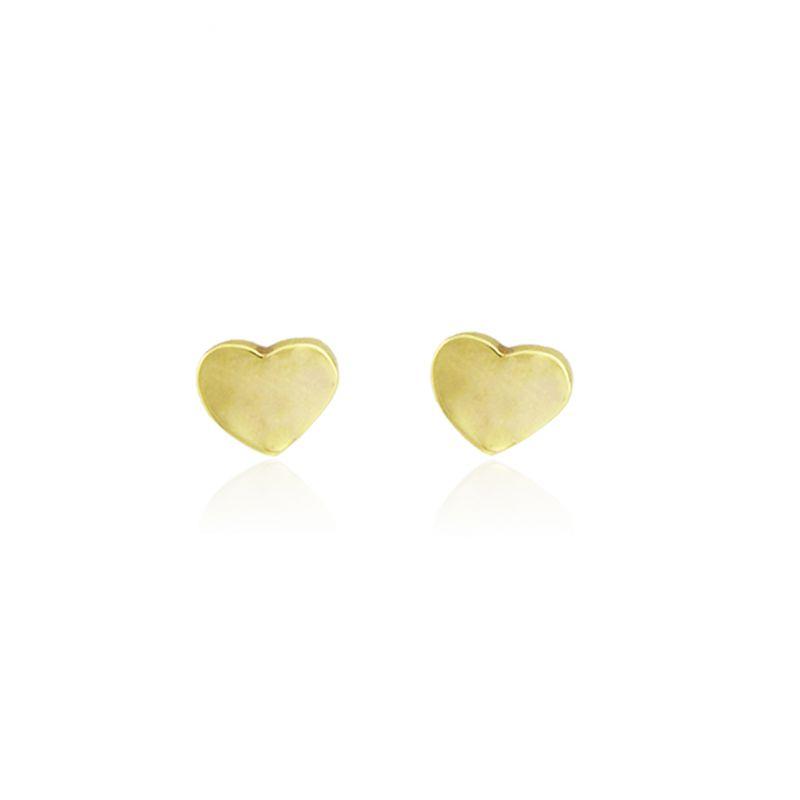 Pendientes Oro 18kts corazón