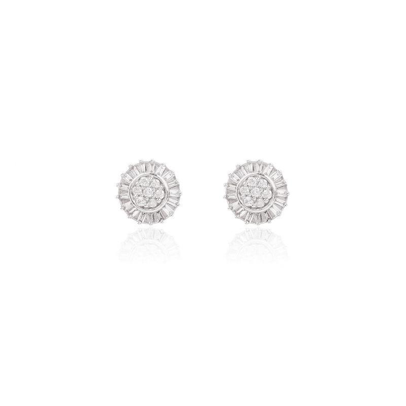 Pendientes Oro 18k diamantes