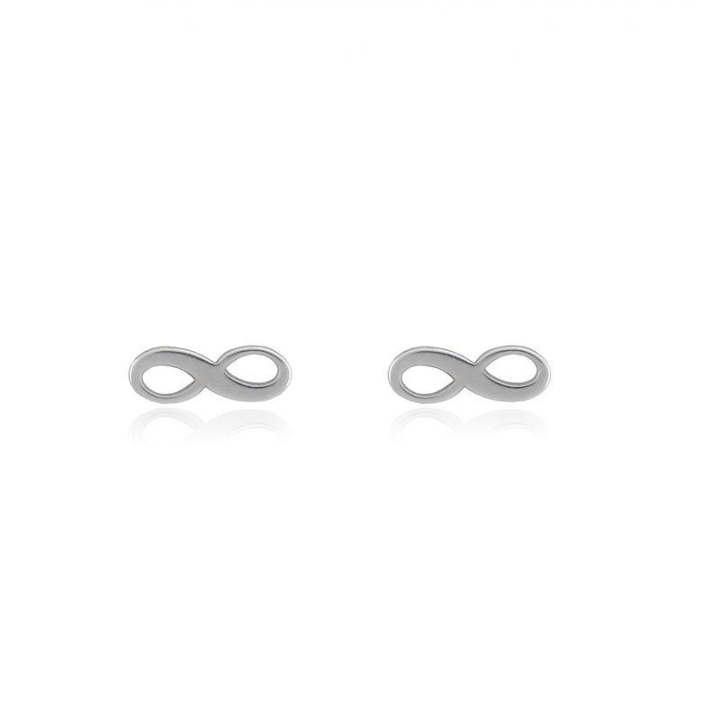 Pendientes plata infinito Roselin Trendy