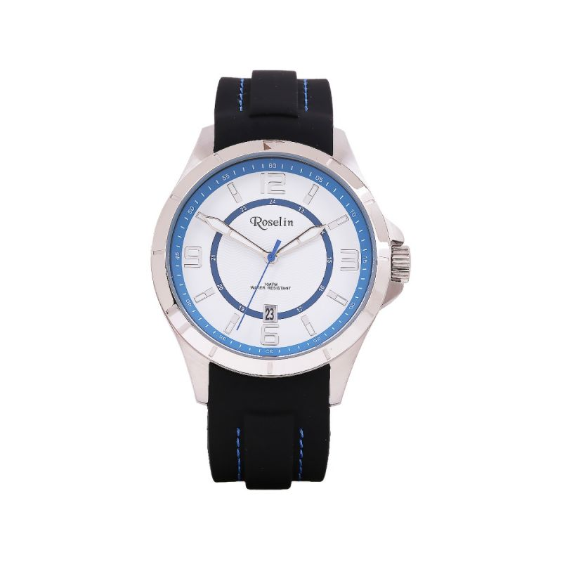 Reloj Hombre Caucho Roselin Watches