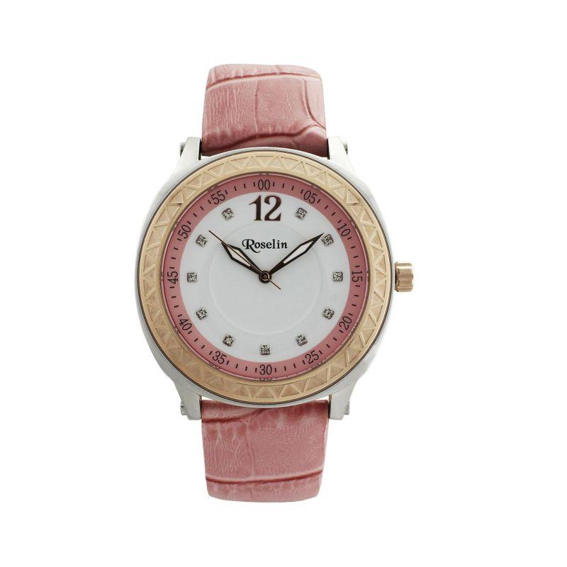 Reloj mujer piel y acero Roselin Watches