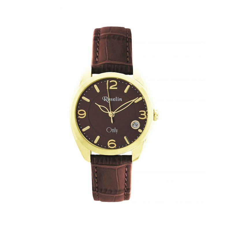 Reloj mujer piel y acero Roselin Watches Only