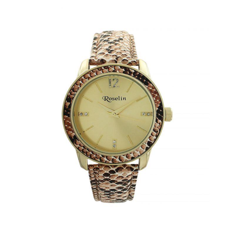 Reloj mujer animal print Roselin Watches