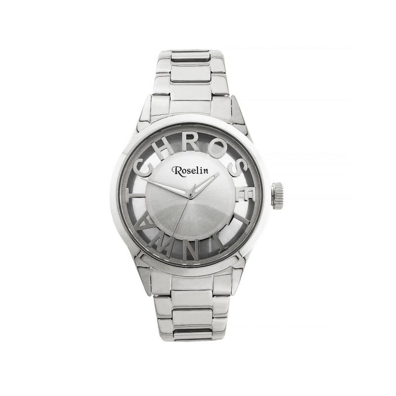 Reloj mujer acero transparente Roselin Watches