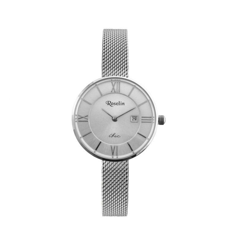 Reloj mujer malla Chic Roselin Watches