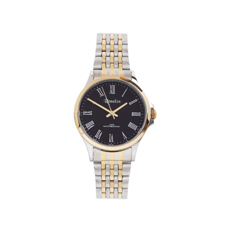 Reloj Mujer Armys bicolor negro Roselin Watches