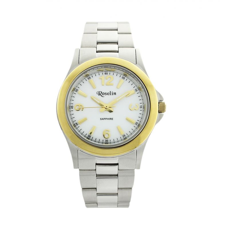 Reloj mujer acero y oro Roselin Watches