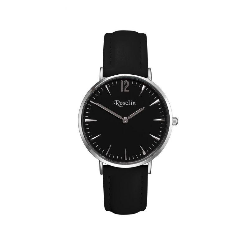 Reloj unisex piel y acero Roselin Watches