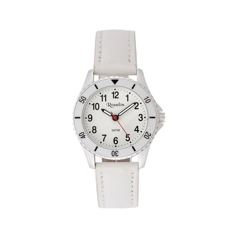 Reloj infantil piel blanco Roselin Watches