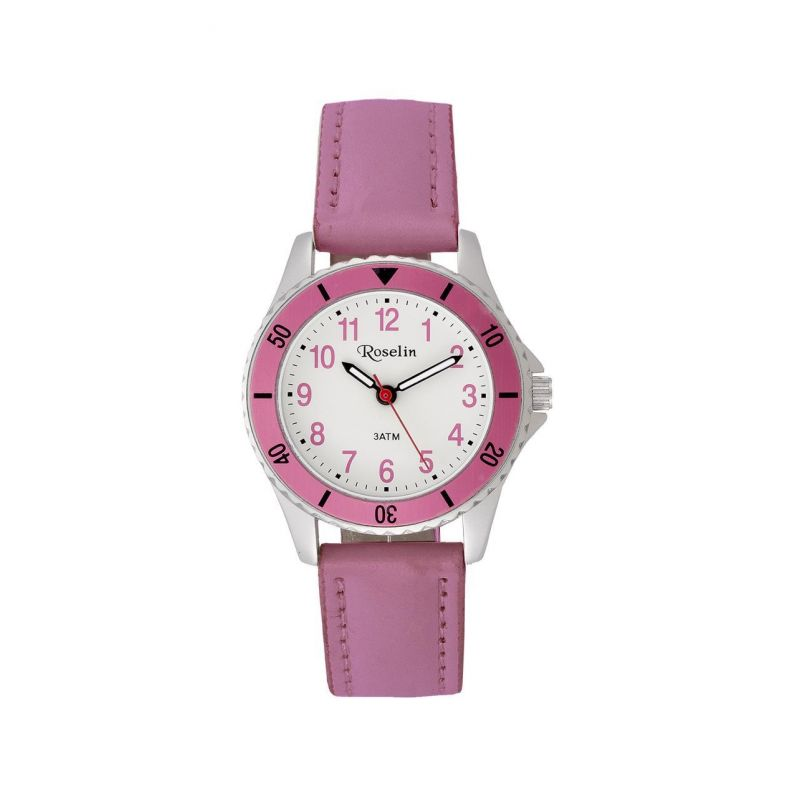 Reloj infantil piel rosa Roselin Watches