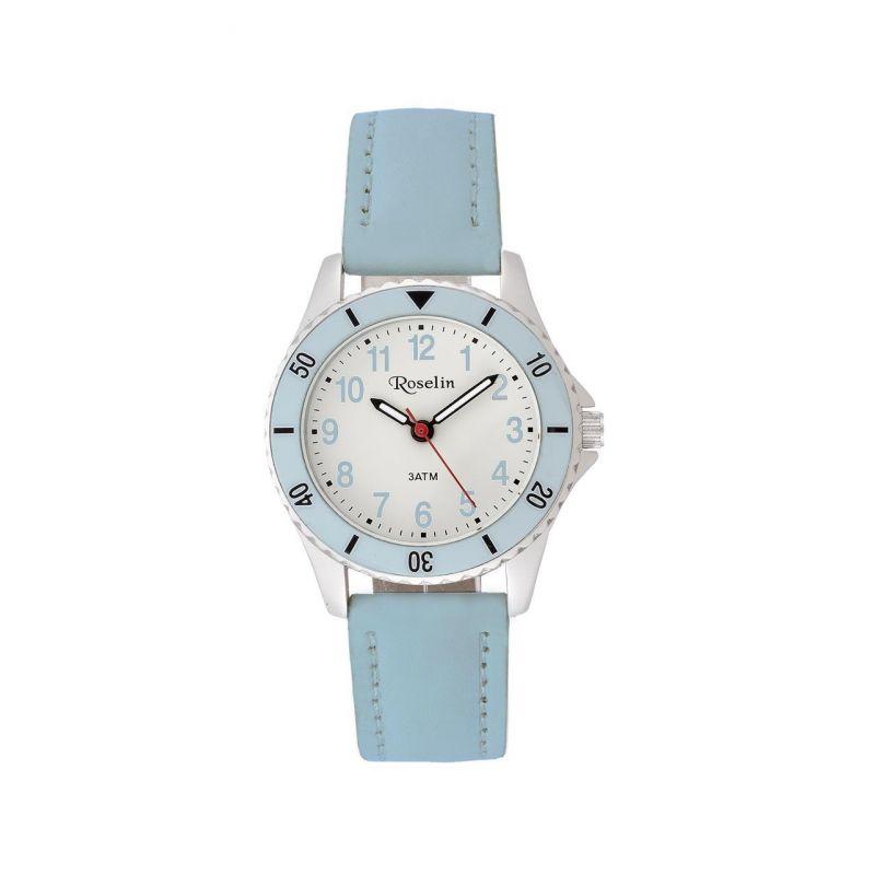 Reloj infantil piel azul Roselin Watches