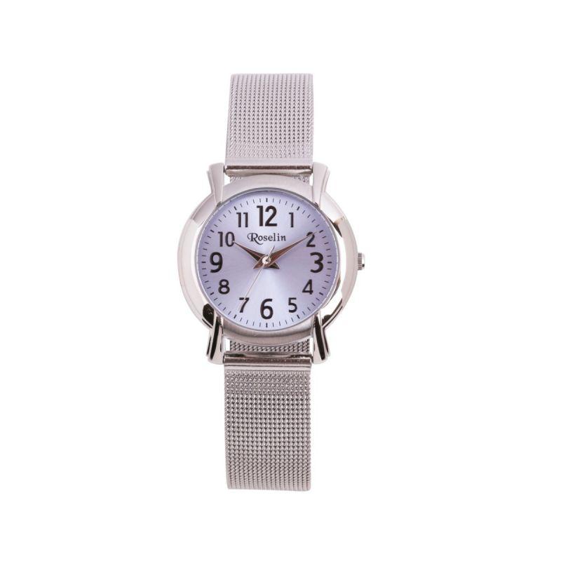 Reloj cadete caja y malla de acero Roselin Watches