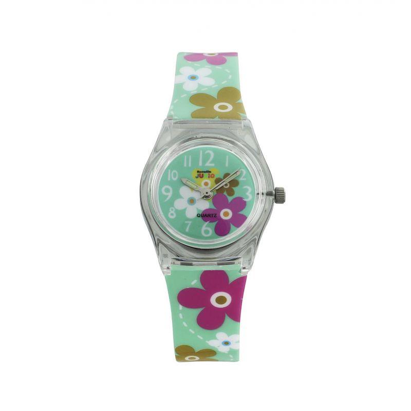 Reloj infantil flores Roselin Junior