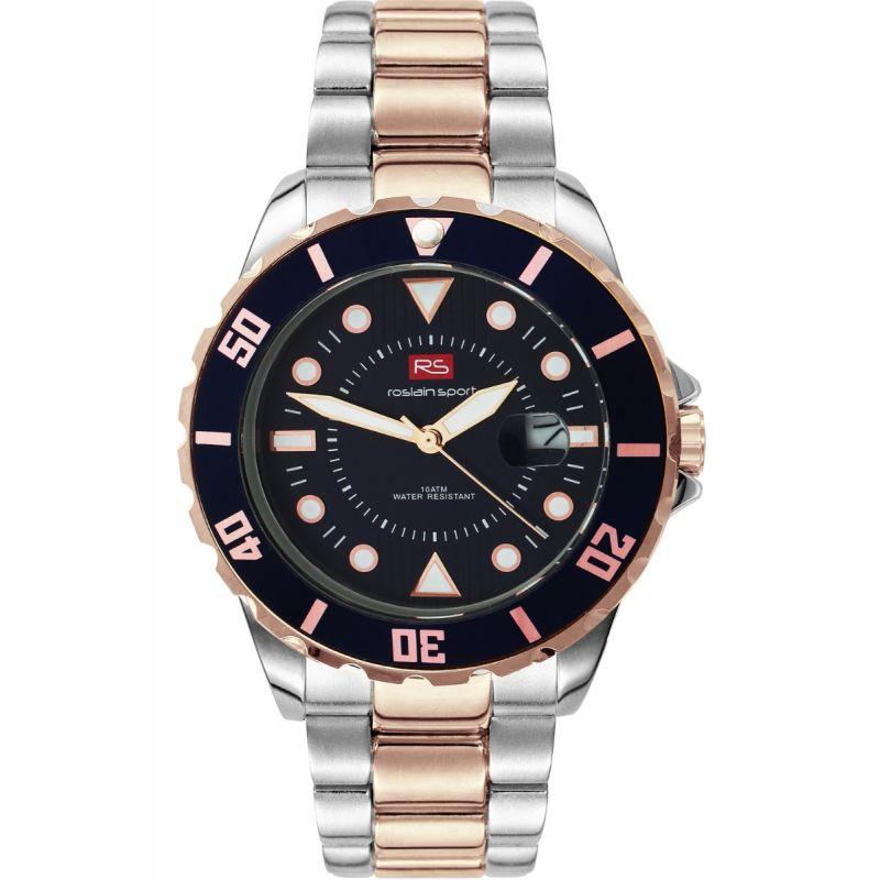 Reloj hombre acero bicolor RS Roslain Sport