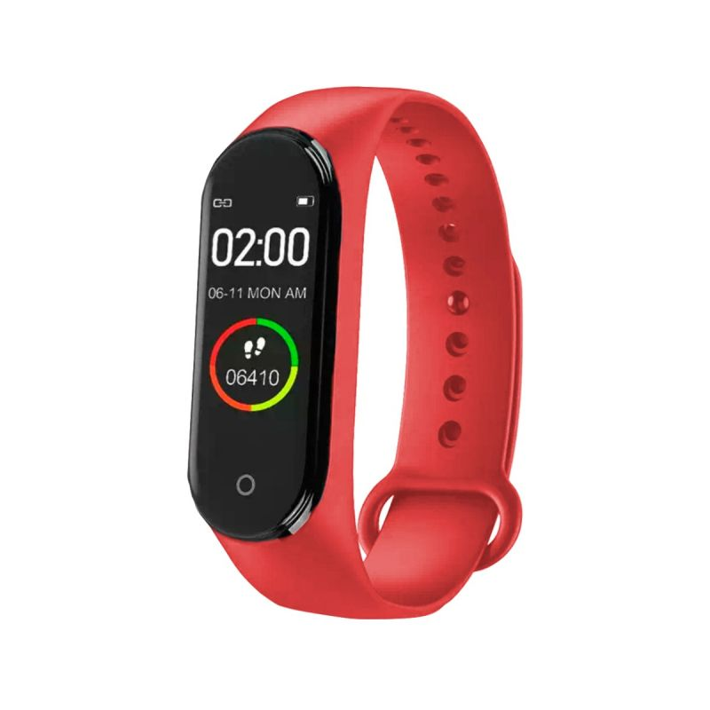 Pulsera Actividad roja Roselin Watches