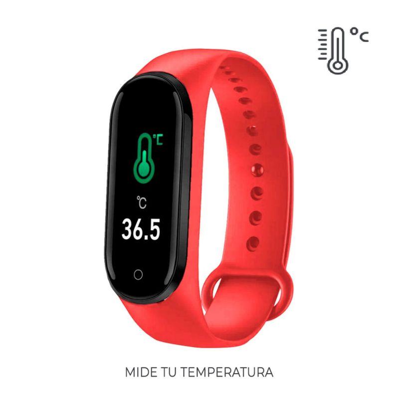 Pulsera Actividad PRO roja Roselin Watches