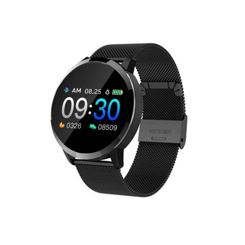 Smartwatch Roselin Malla Negro