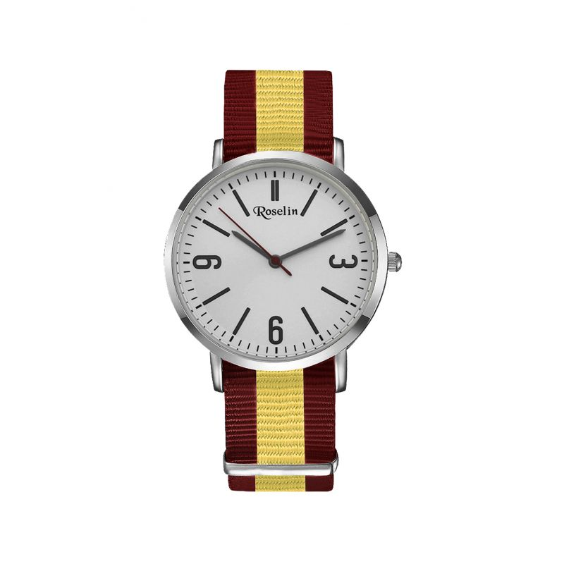 Reloj unisex nylon España Roselin Watches