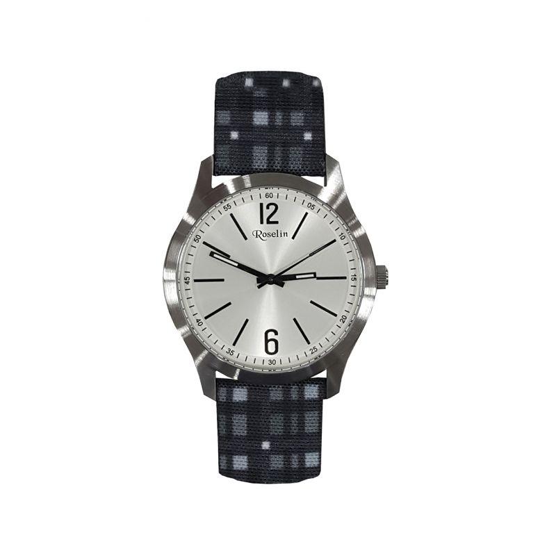 Reloj hombre tela Roselin Watches