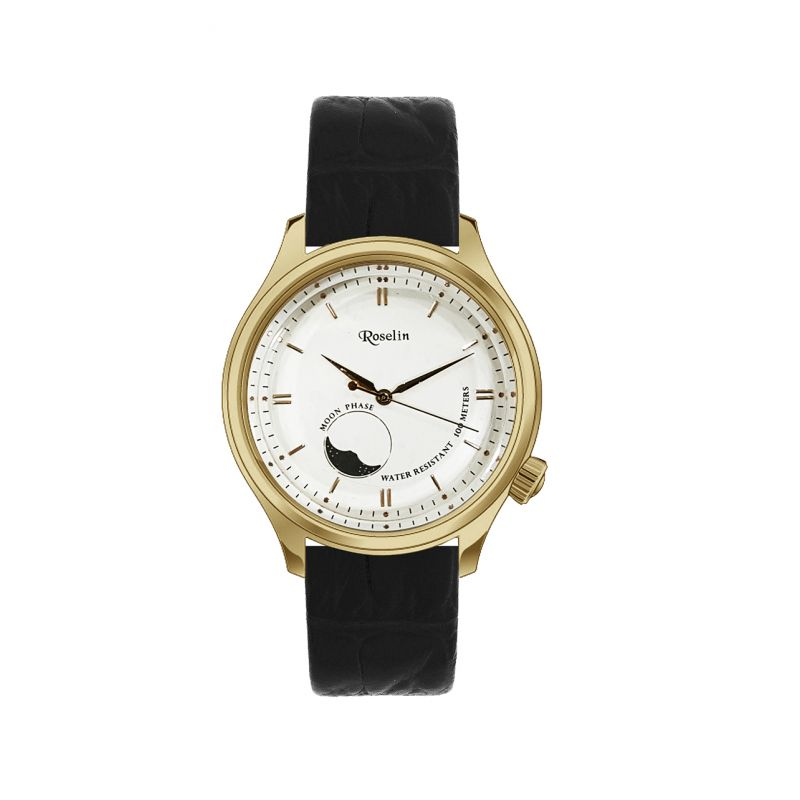 Reloj hombre fase lunar Roselin Watches