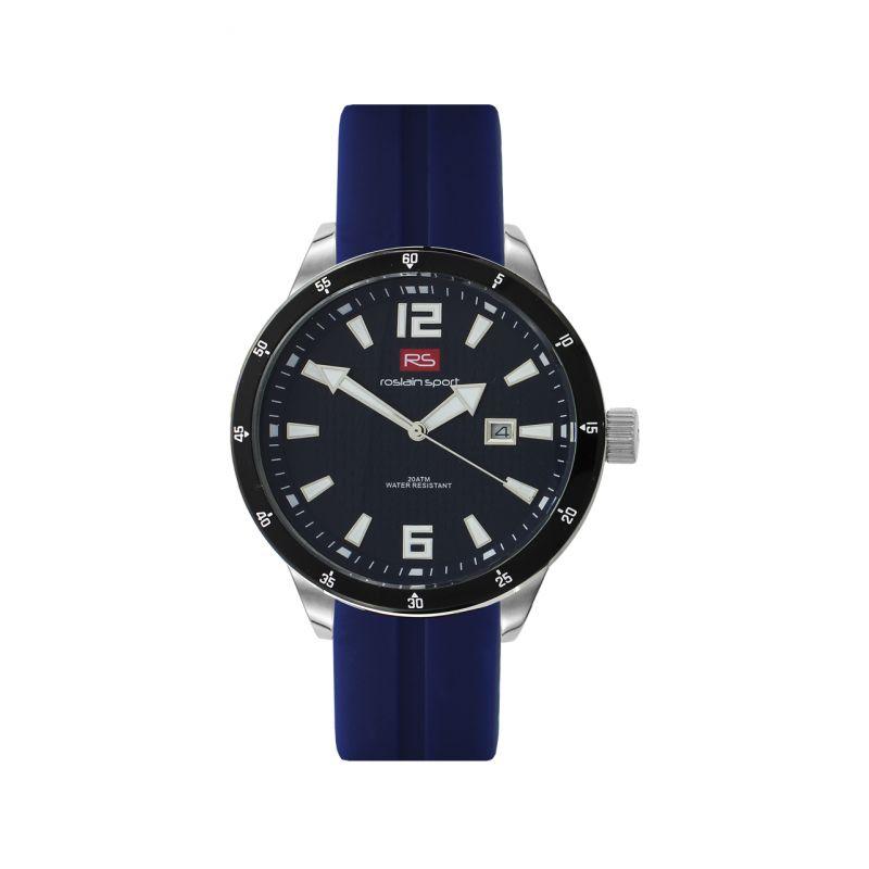 Reloj hombre acero y silicona RS Roslain Sport